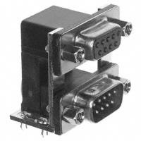 NorComp Inc. - 178-009-313R571 - CONN D-SUB PLUG/RCPT 9POS R/A