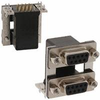 NorComp Inc. - 178-009-513R571 - CONN D-SUB RCPT 9POS R/A SLDR