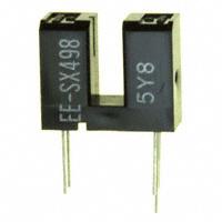 Omron Electronics Inc-EMC Div - EE-SX498 - OPTO SENSOR SLOT TYPE 3MM PCB
