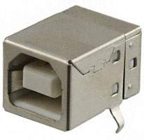 On Shore Technology Inc. - USB-B1HSW6 - CONN USB TYPE B R/A WHITE