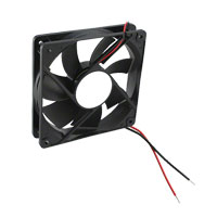 Qualtek - FAD1-12025CBLW12 - FAN AXIAL 120X25.5MM 12VDC WIRE
