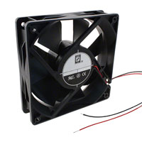 Orion Fans - OD1232-24HB - FAN AXIAL 120X32MM 24VDC WIRE