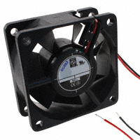 Orion Fans - OD6025-24HHB - FAN AXIAL 60X25MM 24VDC WIRE