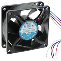 Orion Fans - OD7025-12HHB10A - FAN 70X25MM 12VDC 51CFM PWM/TACH