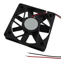 Orion Fans - OD8015-24MB - FAN AXIAL 80X15MM 24VDC WIRE