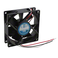 Orion Fans - OD8025-12HB01A - FAN AXIAL 80X25MM 12VDC WIRE