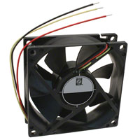 Orion Fans - OD8025-24HB02A - FAN AXIAL 80X25MM 24VDC WIRE