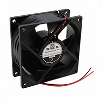 Orion Fans - OD8032-24HB - FAN AXIAL 80.5X32MM 24VDC WIRE
