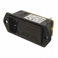 TE Connectivity Corcom Filters - 6VM1 - PWR ENT MOD RCPT IEC320-C14 PNL