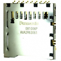 Panasonic Electric Works - AXA2R63061T - CONN SD CARD PUSH-PUSH R/A SMD