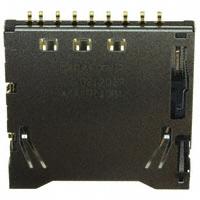 Panasonic Electric Works - AXA2R73061T - CONN SD CARD PUSH-PUSH R/A SMD