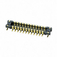 Panasonic Electric Works - AXE224124A - CONN HEADER 24PIN .4MM SMD