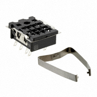 Panasonic Electric Works - HC2-SS-K - SOCKET SLD TAB W/CLIP HC2 RELAY