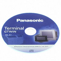 Panasonic Industrial Automation Sales - AIGSGT7EN - GTWIN V3 PROGRAM SOFTWARE FOR GT