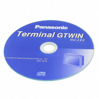 Panasonic Industrial Automation Sales - AIGT8001V2 - GTWIN VER 2 PRGRM SFTWR