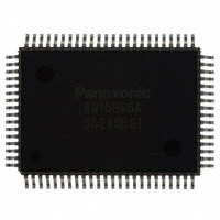 Panasonic Electronic Components - AN15866A-VT - IC VIDEO SWITCH 17IN/5OUT QFH-80