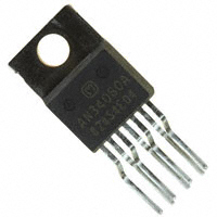 Panasonic Electronic Components - AN34060A - IC REG BUCK 2.5V/3.3V/5V TO220