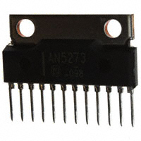 Panasonic Electronic Components - AN5273 - IC AUDIO AMP 2CH 4W SIL-12 W/FIN