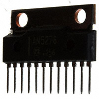 Panasonic Electronic Components - AN5276 - IC AUDIO AMP 2CH 5W SIL-12 W/FIN