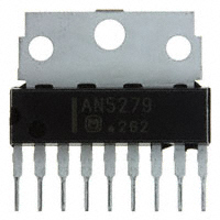 Panasonic Electronic Components - AN5279 - IC AUDIO AMP 5W SIL-9 W/FIN