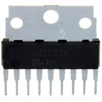 Panasonic Electronic Components - AN7523N - IC AUDIO AMP 4W SIL-9 W/FIN