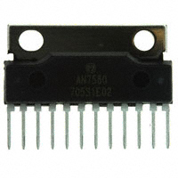 Panasonic Electronic Components - AN7580 - IC AUDIO AMP 25W 2CH SIL-12