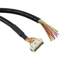 Panasonic Industrial Automation Sales - CN-M20-C2 - CABLE WITH CONNECTOR ON ONE END