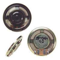 Panasonic Electronic Components - EAS-2P104H - SPEAKER 8OHM 300MW TOP PORT 81DB