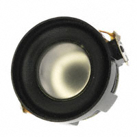 Panasonic Electronic Components - EAS-3P133B6 - SPEAKER 8OHM 3W SIDE PORT 83DB