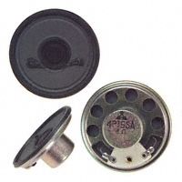 Panasonic Electronic Components - EAS-4P15SA - SPEAKER 8OHM 100MW 92DB ROUND
