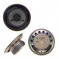 Panasonic Electronic Components - EAS-6P22S - SPEAKER 8OHM 500MW 92DB ROUND