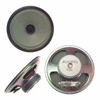 Panasonic Electronic Components - EAS-8P36S - SPEAKER 25OHM 630MW 95DB ROUND