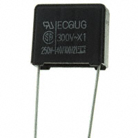 Panasonic Electronic Components - ECQ-U3A104MG - CAP FILM 0.1UF 20% 300VAC RADIAL