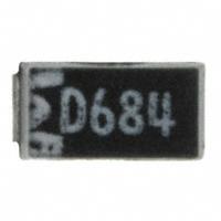 Panasonic Electronic Components - ECS-H1DY684R - CAP TANT 0.68UF 20V 20% 1206