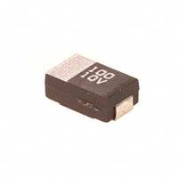 Panasonic Electronic Components - ECS-T1AD107R - CAP TANT 100UF 10V 20% 2917