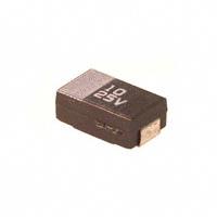 Panasonic Electronic Components - ECS-T1ED106R - CAP TANT 10UF 25V 20% 2917