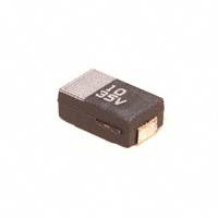 Panasonic Electronic Components - ECS-T1VD106R - CAP TANT 10UF 35V 20% 2917