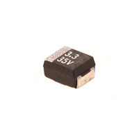 Panasonic Electronic Components - ECS-T1VX335R - CAP TANT 3.3UF 35V 20% 1411