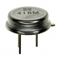 Panasonic Electronic Components - EFO-H418MS03 - SAW RES 418.0000MHZ T/H