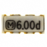 Panasonic Electronic Components - EFO-SS6004E5 - CER RES 6.0000MHZ 21PF SMD