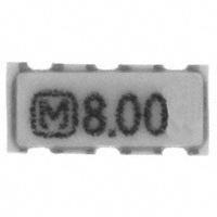 Panasonic Electronic Components - EFO-SS8004E5 - CER RES 8.0000MHZ 21PF SMD