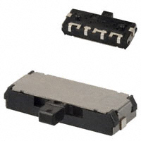 Panasonic Electronic Components - ESE-15700 - SWITCH SLIDE SPDT 1MA 10V