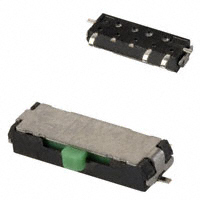 Panasonic Electronic Components - ESE-15800 - SWITCH SLIDE SPDT 1MA 10V