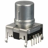 Panasonic Electronic Components - EVE-QDBRG516B - ENCODER 16MM VERT W/SPST SWITCH