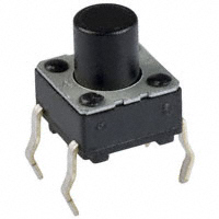Panasonic Electronic Components - EVQ-PAC07K - SWITCH TACTILE SPST-NO 0.02A 15V