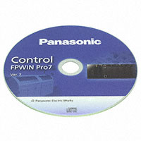 Panasonic Industrial Automation Sales - FPWINPRO7S - CONTROL FPWIN PRO 7