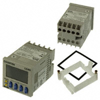 Panasonic Industrial Automation Sales - LC4H-R4-AC240VS - COUNTER LCD 4 CHAR 100-240V PNL