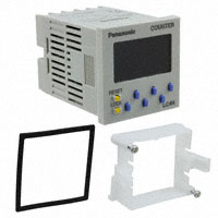 Panasonic Industrial Automation Sales - LC4H-R6-DC24VS - COUNTER LCD 6 CHAR 12-24V PNL MT
