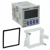 Panasonic Industrial Automation Sales - LC4H-T4-DC24V - COUNTER LCD 4 CHAR 12-24V PNL MT