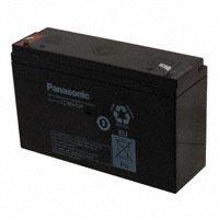 Panasonic - BSG - LC-R0612P - BATTERY LEAD ACID 6V 12AH